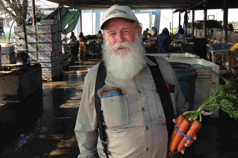 Tom Willey grows a large variety of organic vegetables near Madera, Calif., and employs about 50 people year-round.