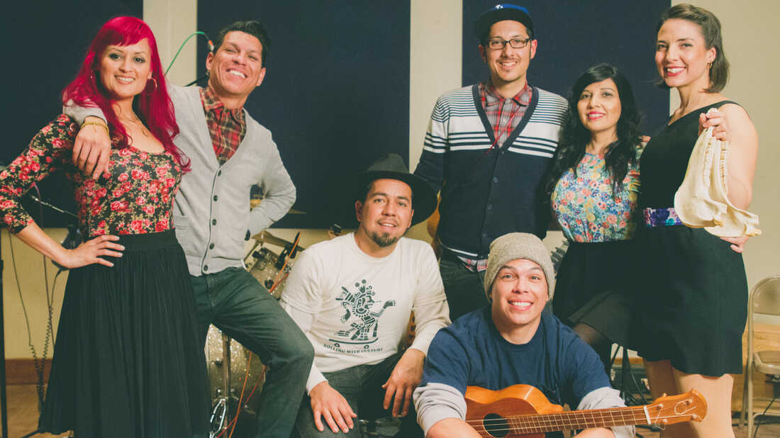 Las Cafeteras On World Cafe
