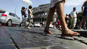 James Bond Meets His Match — The Roman Cobblestone