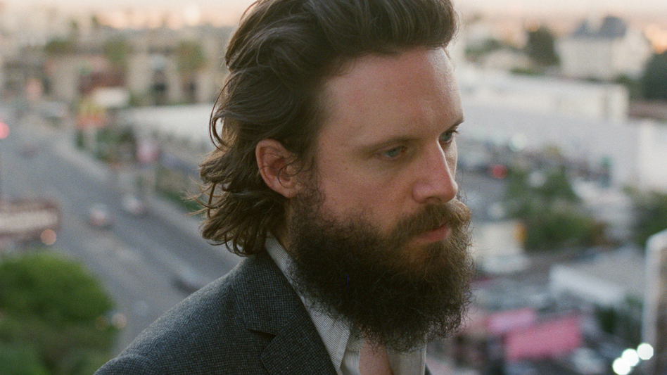 Josh Tillman's latest album as Father John Misty, I Love You, Honeybear, is a sincere and shocking catalog of the main character's adventures in sex and love. (Courtesy of the artist)