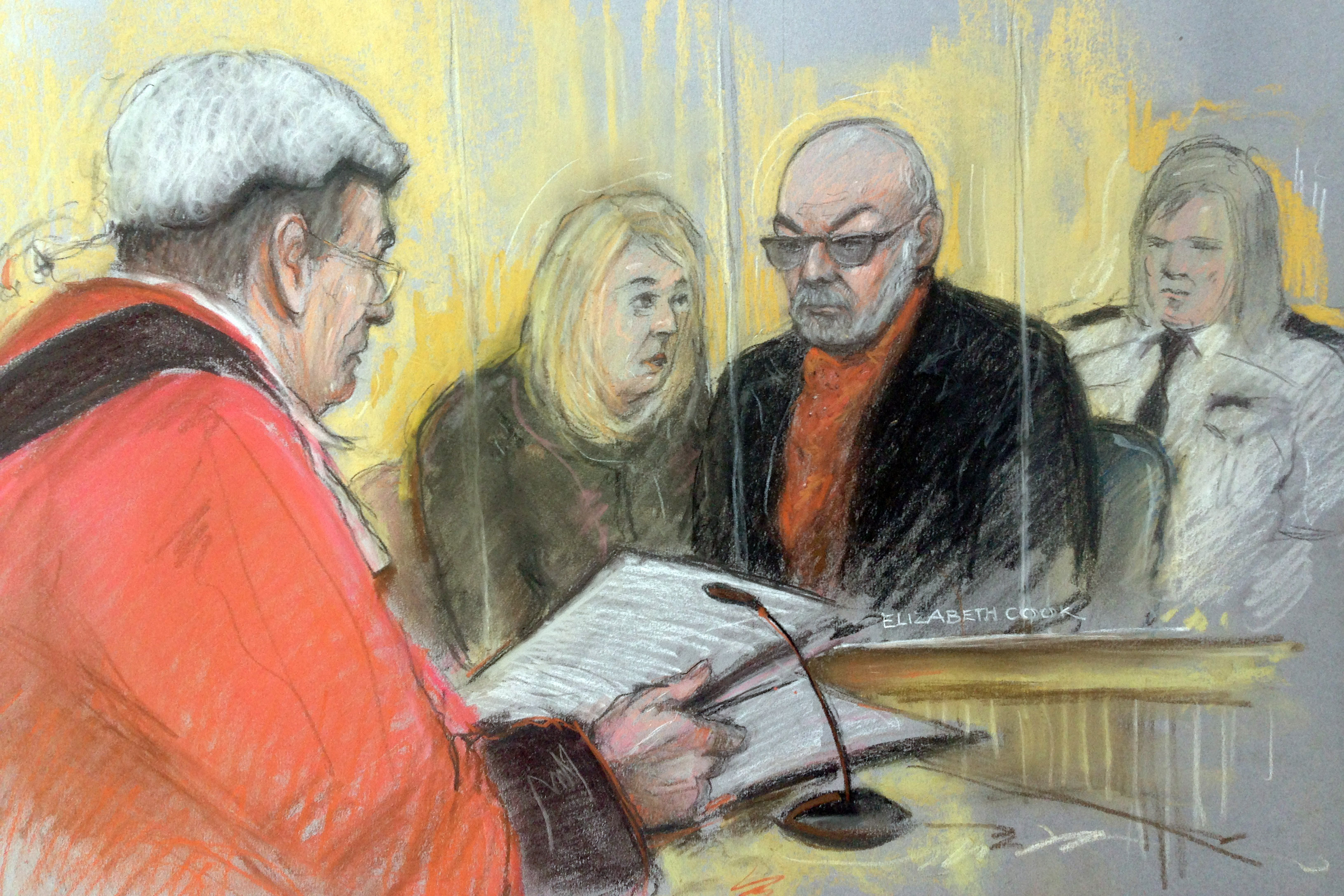 Rocker Gary Glitter Jailed For 16 Years For Child Sex Abuse