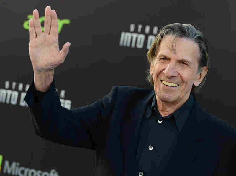 "Leonard Nimoy said that Mr. Spock was ""an alien everywhere he went."""