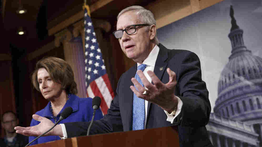 """It is a waste of time. We will not allow a conference to take place. It won't happen,"" Senate Minority Leader Harry Reid said Thursday about the possibility of the two chambers reconciling Department of Homeland Security funding bills."
