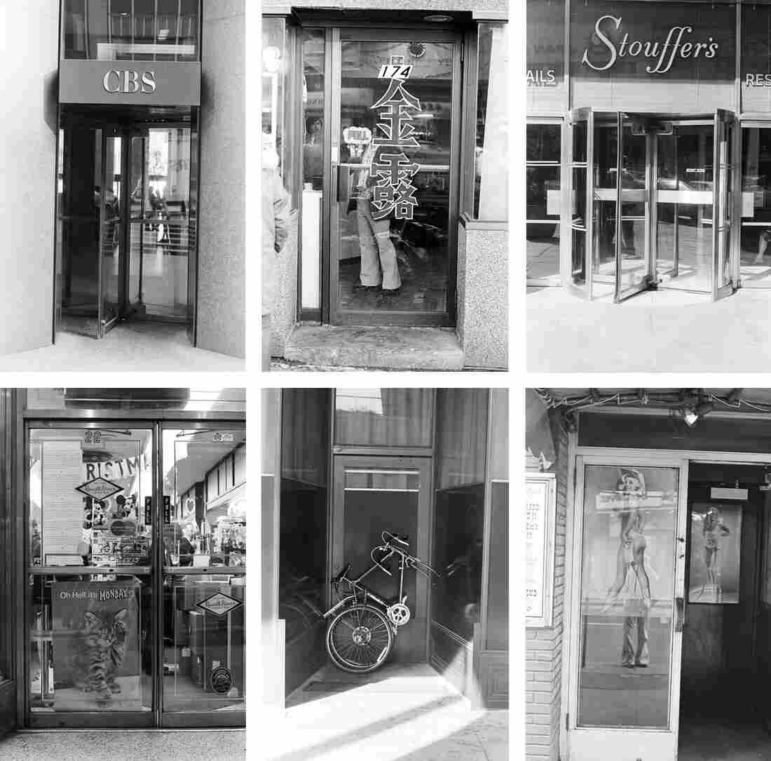 A photographic series of New York City's doors, from the Roy Colmer collection at the New York Public library