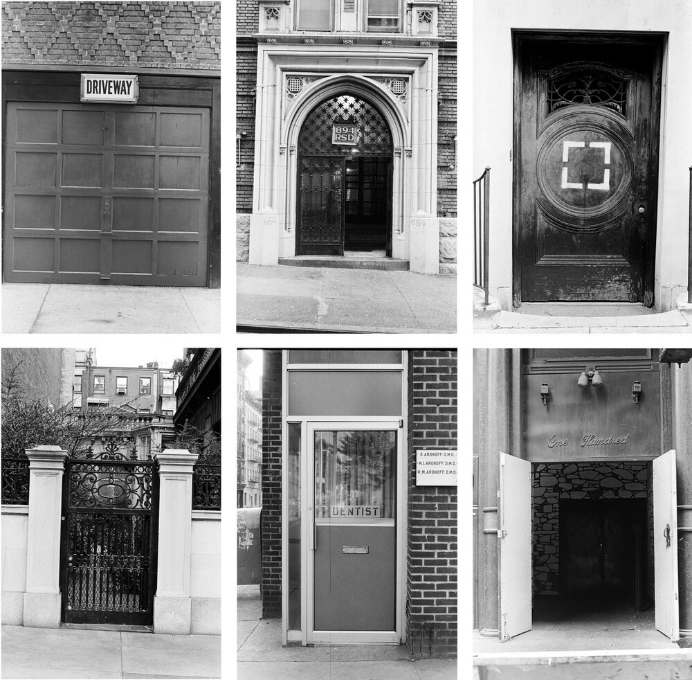 A photographic series of New York Cityu0027s doors from the Roy Colmer collection at the : street doors images - pezcame.com