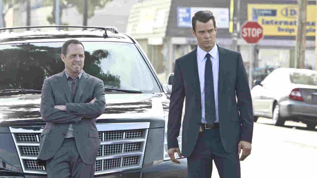 Dean Winters, left, and Josh Duhamel are not your father's mismatched buddy cops, on the new CBS show Battle Creek.