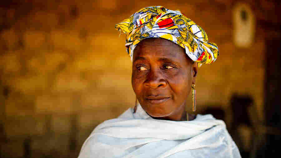 Mamuedeh Kanneh was married to Laiye Barwor, the person who brought Ebola to Barkedu, Liberia. She is the only adult survivor from the Barwor family and now the sole guardian of 13 orphans.