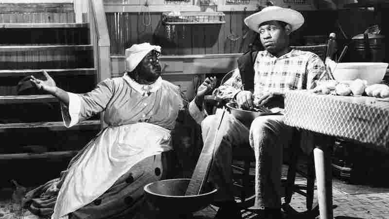 Hattie Daniels and Paul Robeson in Show Boat.