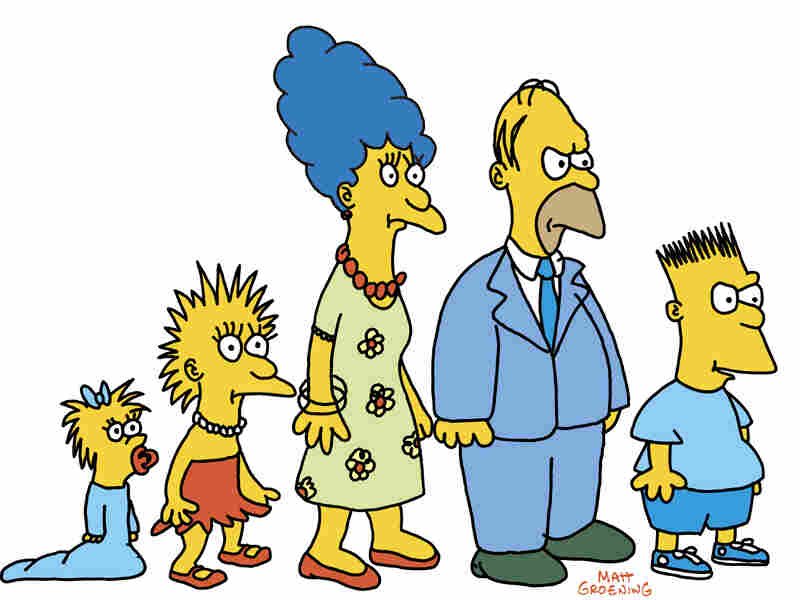 The Simpsons began as a short during The Tracey Ullman Show on FOX. The animation was rudimentary and vocal recording took place in a makeshift booth with a single microphone.