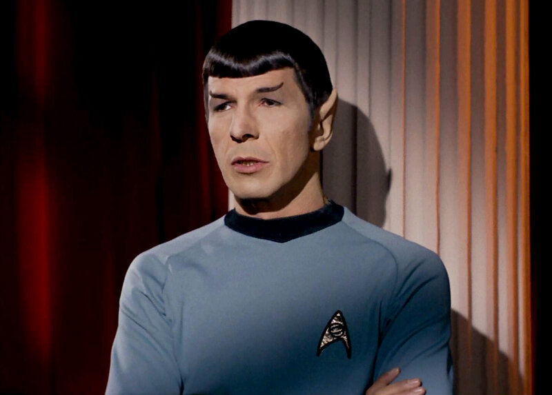 dc3eee57 Leonard Nimoy's Mr. Spock Taught Us Acceptance Is Highly Logical : NPR
