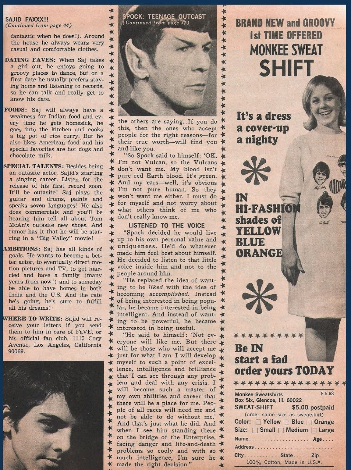 Leonard Nimoy's Advice To A Biracial Girl In 1968
