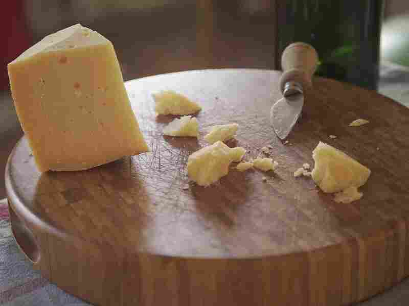 A hard, aged cheese made with Mery's milk.