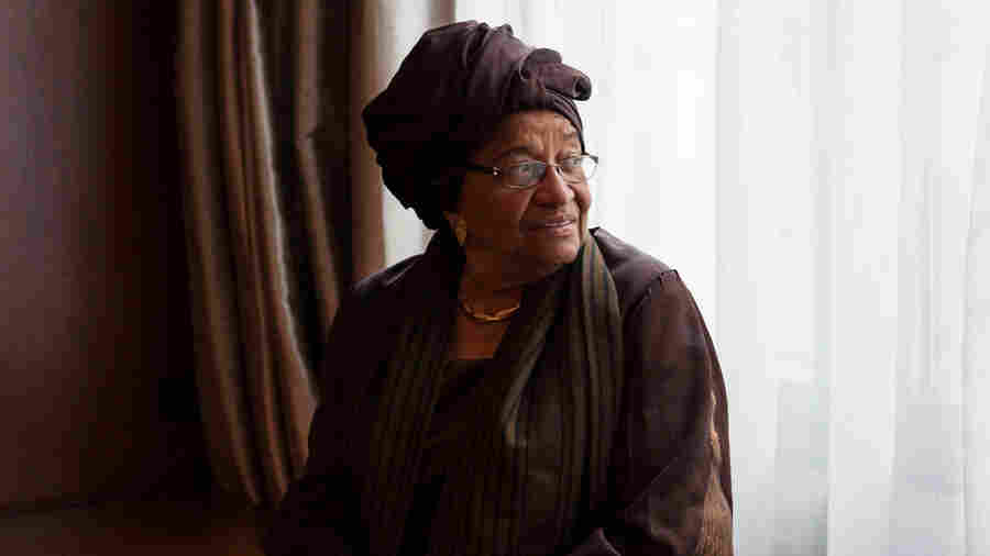 Liberian President Ellen Johnson-Sirleaf, photographed in Washington, D.C., on February 26.