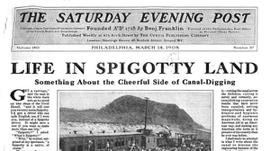 Saturday Evening Post, 1908.