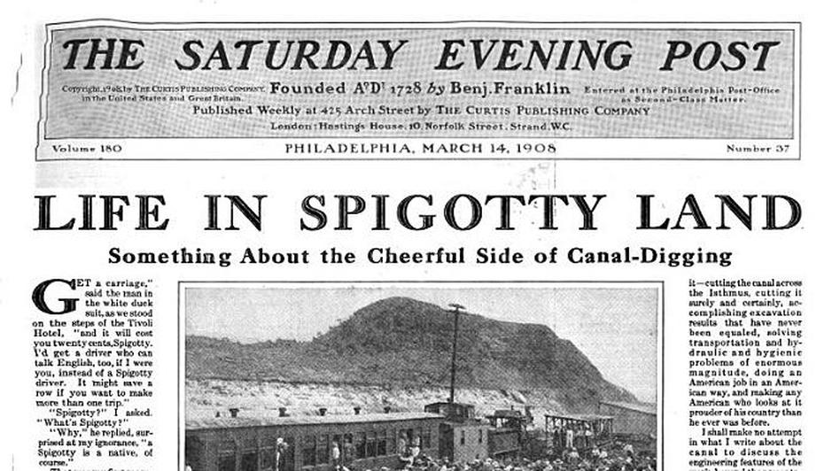 Saturday Evening Post, 1908. (via Google Books )
