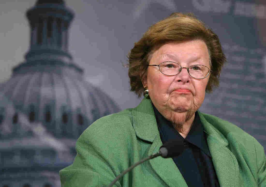Longtime Maryland Democrat Barbara Mikulski has served in the Senate since 1987.
