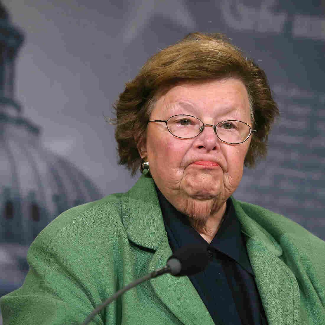 Sen. Barbara Mikulski, Congress' Longest-Serving Woman, To Retire