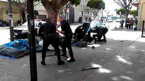 Video Shows LA Police Shot And Killed Man On Sidewalk