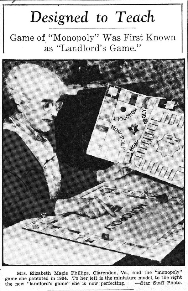 In 1936, Magie spoke out against the Darrow creation story in the pages of the Washington Evening Star.