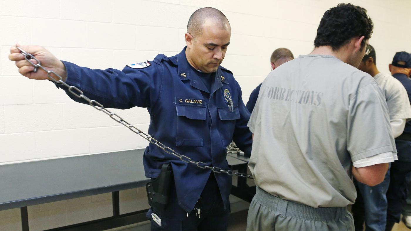 states face correctional officer shortage amid a cultural stigma npr