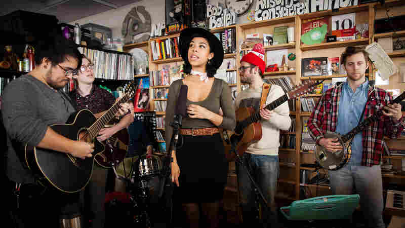 Tiny Desk Concert with Phox on February 12, 2015.