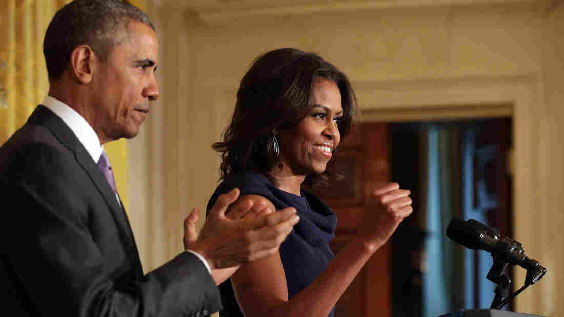 President Barack Obama and first lady Michelle Obama unveiled the Let Girls Learn program at the East Room of the White House on Tuesday.