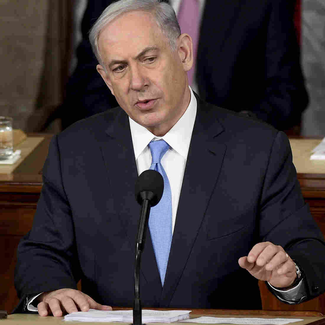 In Speech To Congress, Netanyahu Blasts 'A Very Bad Deal' With Iran