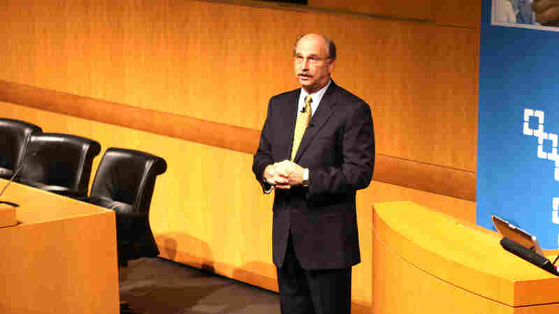 Dr. Chuck Denham gave the keynote speech at a patient safety conference held at the Cleveland Clinic in 2011.