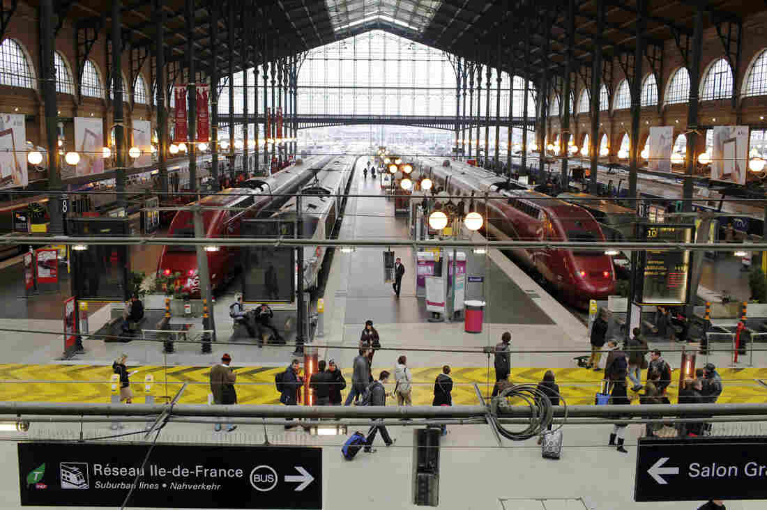 "Gare du Nord railway station is what British historian Andrew Hussey calls ""the frontier zone"" between the world of affluent and well-heeled Paris and that of the banlieue, the suburbs north of the French capital that are home to largely poor, immigrant and minority communities."