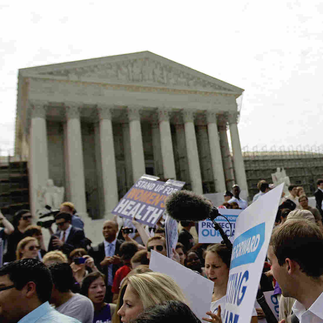 Round 2: Health Care Law Faces The Supreme Court Again