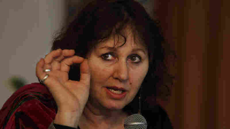 British filmmaker Leslee Udwin addresses a news conference about her film India's Daughter. India has ordered the film not to be shown pending an investigation into how filmmakers were able to interview the men convicted of the deadly rape of a 23-year-old woman in 2012.