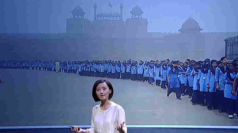 Journalist Chai Ling used $160,000 of her own money to produce a documentary on China's air pollution problem.