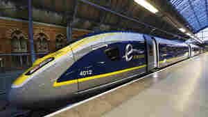 Eurostar unveiled its e320 fleet in November 2014 at St. Pancras Station in London.