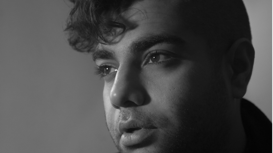 Heems' first proper solo album, Eat Pray Thug, focuses on his experiences as an Indian-American raised in Queens, N.Y. (Courtesy of the artist)