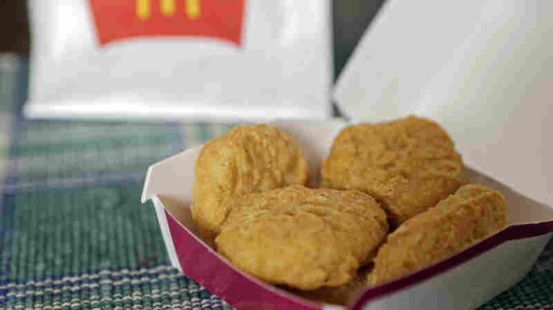 An order of McDonald's Chicken McNuggets in Olmsted Falls, Ohio. McDonald's says it plans to start using chicken raised without antibiotics important to human medicine.