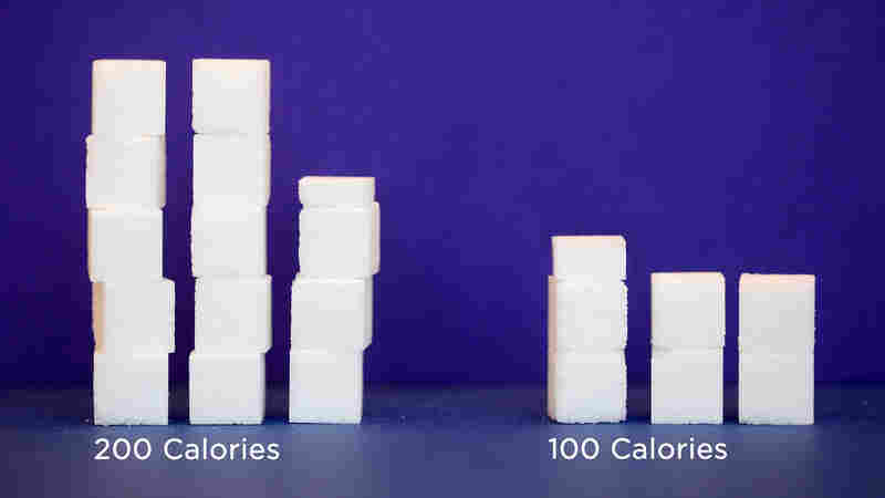 The World Health Organization recommends cutting sugar intake.