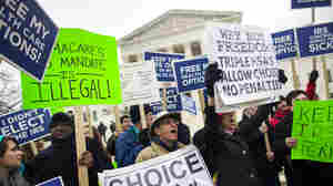 Few Clues On Health Law's Future Emerge In Supreme Court Arguments