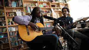 Tiny Desk Concert with Aurelio Martinez on February 13, 2015.