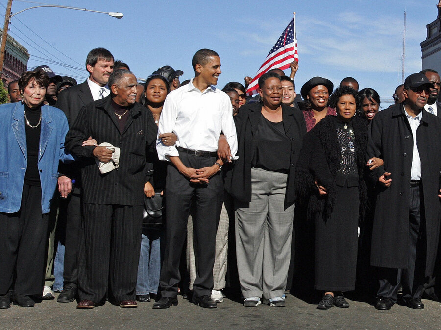 Obama Returns To Selma For 50th Anniversary Of Historic March