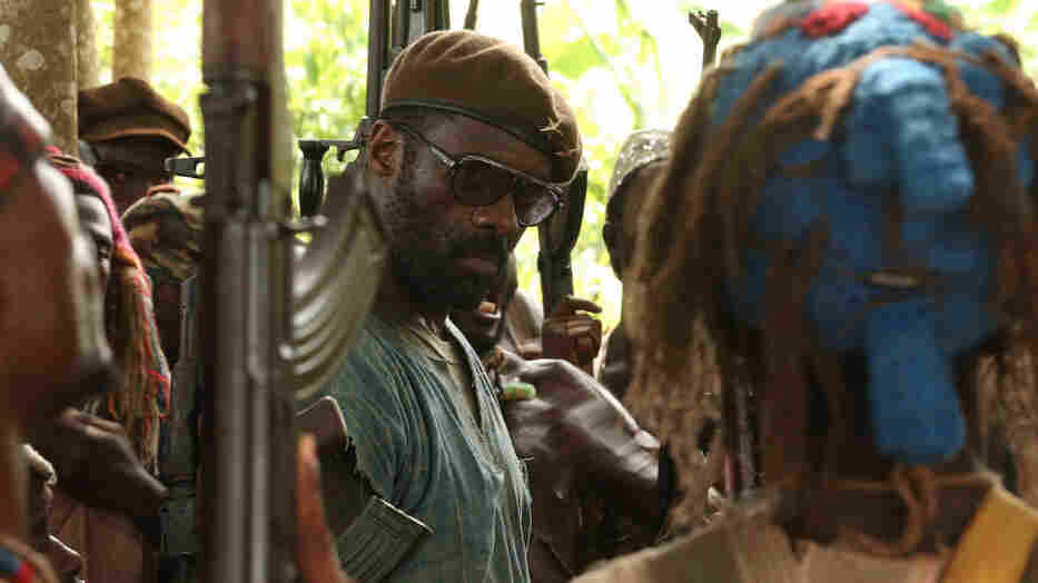 Idris Elba stars as an African warlord in the forthcoming film Beasts of No Nation. Netflix recently purchased distribution rights for the film for nearly $12 million.