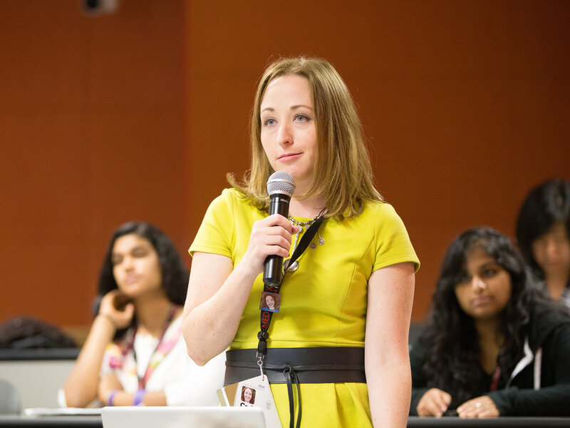 """Carly Medosch has conditions that cause intense fatigue and chronic pain. She took part in a 2014 Stanford Medicine X conference that included discussion of """"invisible"""" illnesses."""