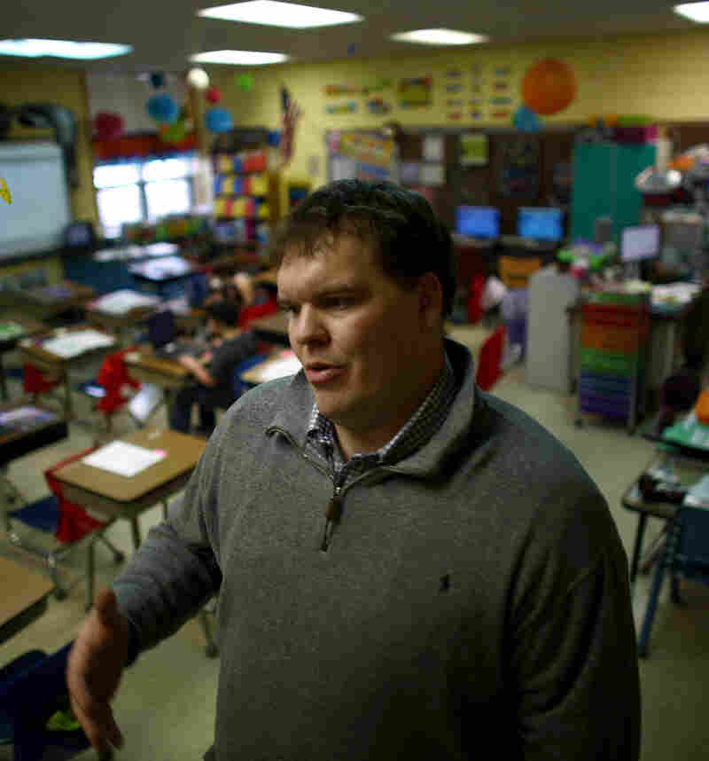 West Side Elementary School Principal John Skinner first came to Sidney as a teacher in 2007.