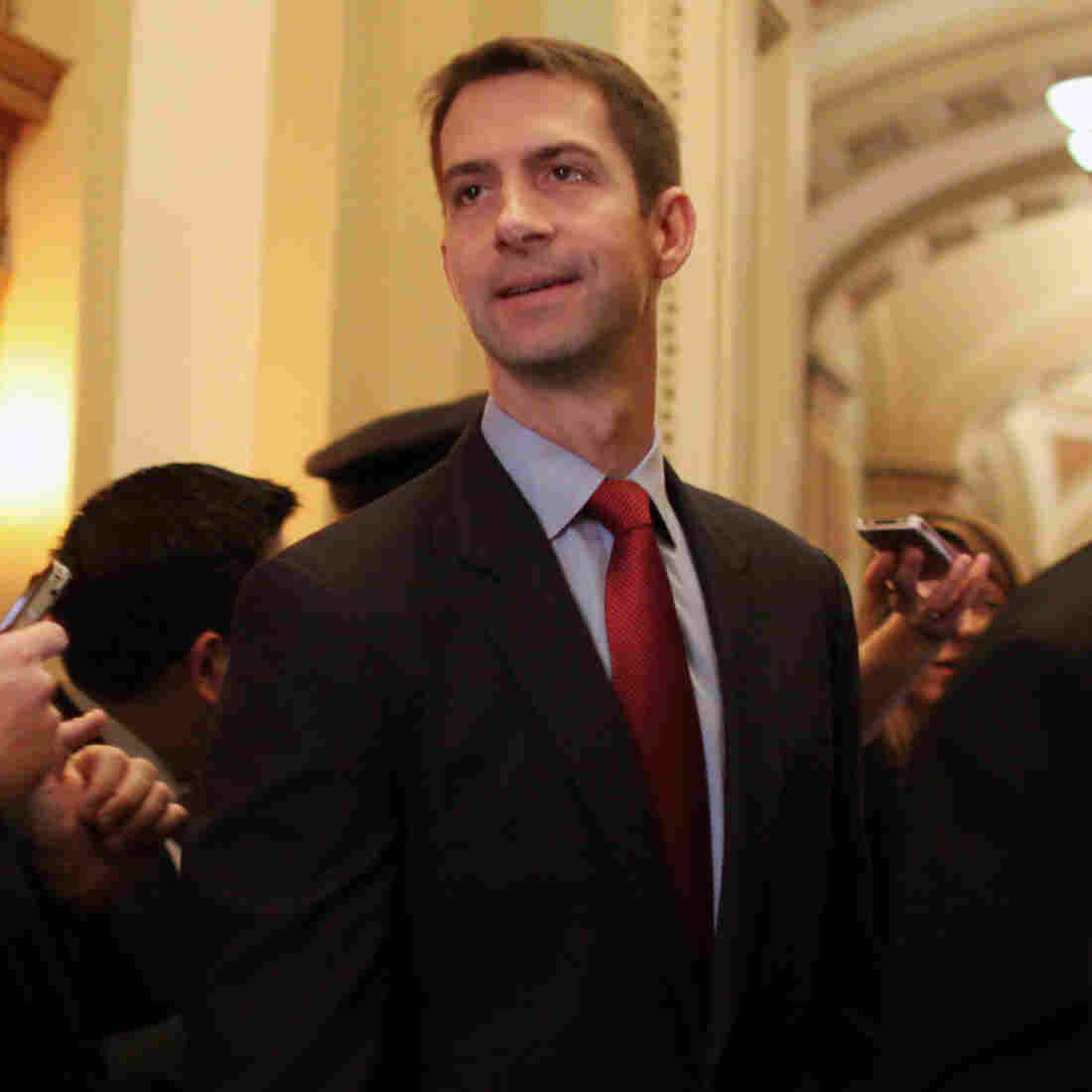 Freshman Republican Sen. Tom Cotton of Arkansas wrote the letter — co-signed by 46 of his GOP colleagues — to the leaders of Iran.