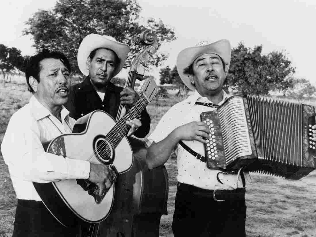 Legendary norteño group Los Alegres de Terán, in a promotional still from the 1976 documentary Chulas Fronteras.
