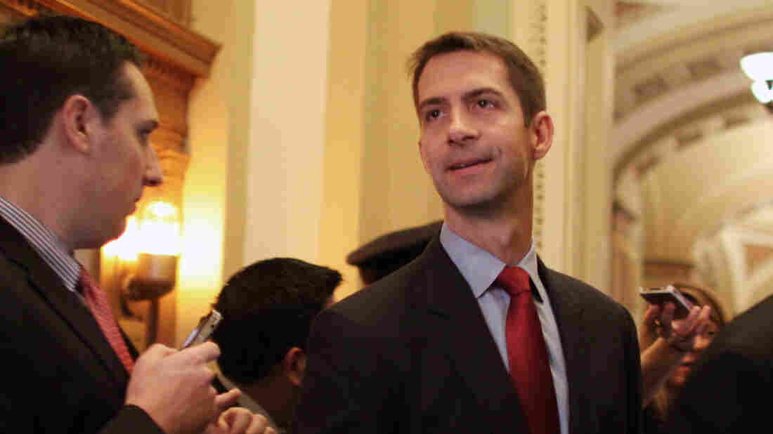 Its doubtful that Arkansas Sen. Tom Cotton (right) will face legal consequences for the letter he wrote to Iran. The Logan Act hasn't been used to prosecute anyone since it was passed more than 200 years ago.