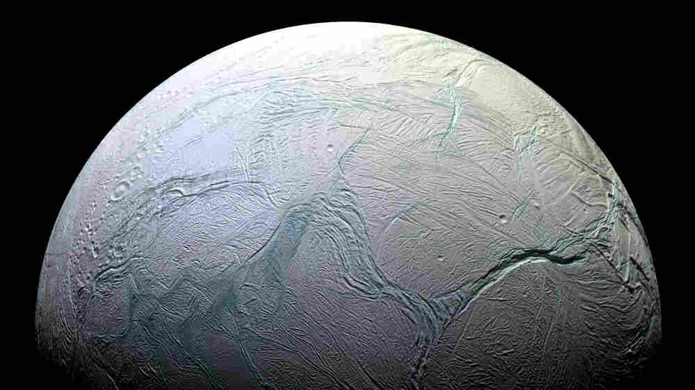Researchers Think There's A Warm Ocean On Enceladus