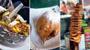 Cowboy Cravings: Fried Cookie Dough And Other Rodeo Calorie Bombs
