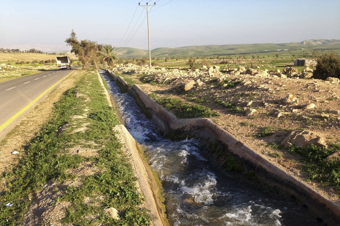 West Bank water
