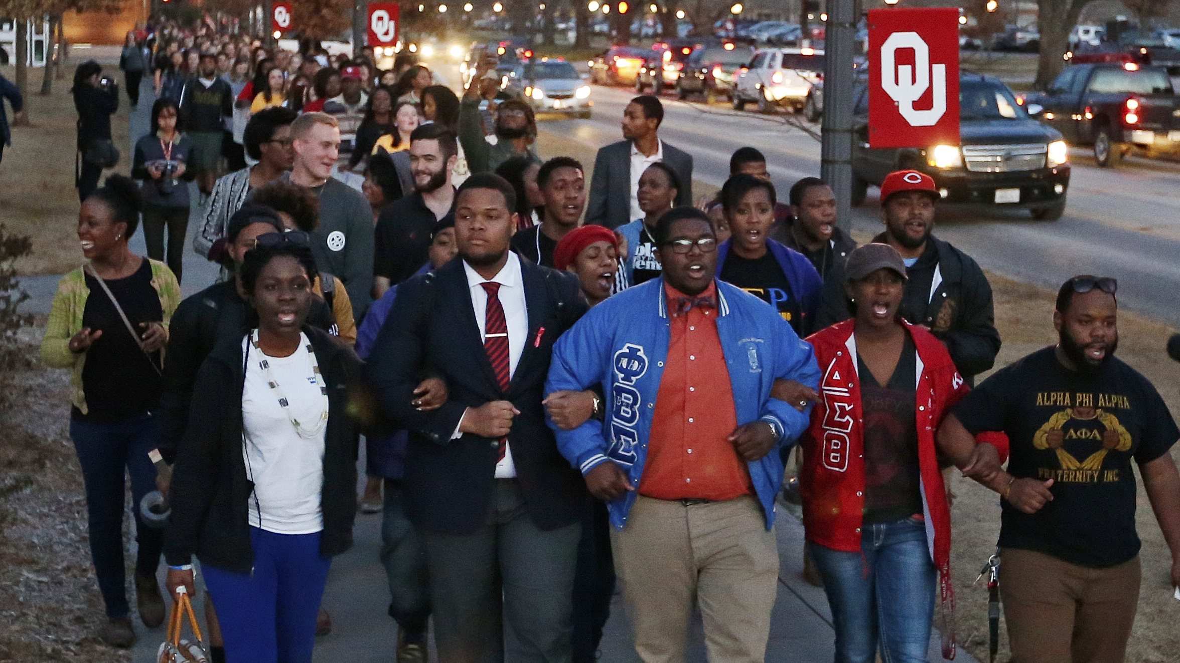 2 Oklahoma Students Seen In Racist Fraternity Video Apologize