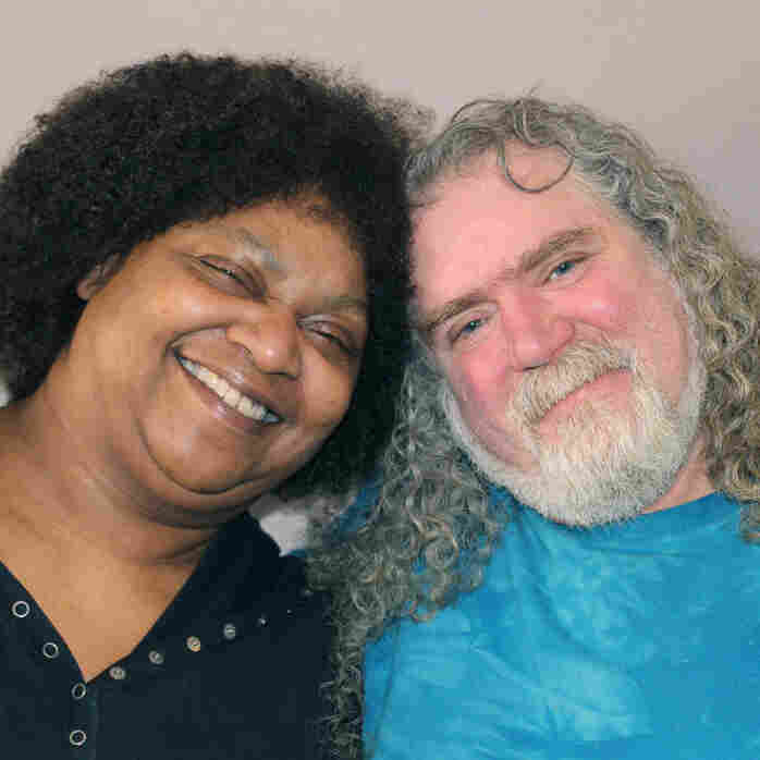 Diana and Rick Abath during a recent visit to StoryCorps.